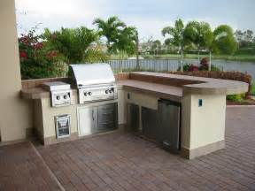 prefabricated outdoor kitchen islands prefab outdoor kitchen kits in various designs mykitcheninterior