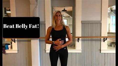 beat menopause belly fat youtube