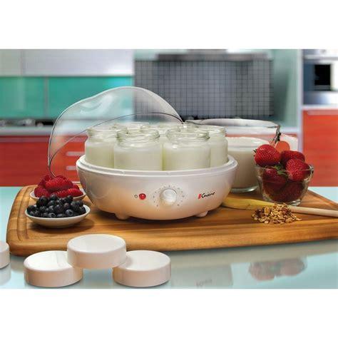 european cuisine cuisine 1 31 qt 7 jar yogurt maker ym100 the home