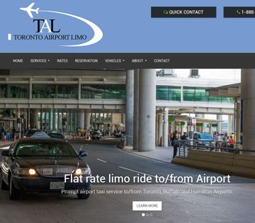 Limo Ride To Airport by Toronto Airport Limo Limousine Transportation To From