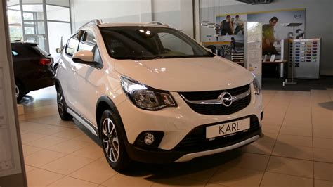 Opel Karl 2020 by 2018 New Opel Karl Rocks Exterior And Interior