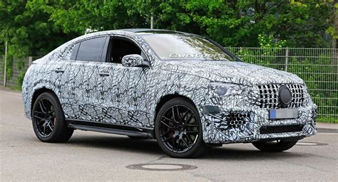 From the outside, the heavily contoured power dome design hints at the immense power delivery. 2020 Mercedes-AMG GLE 63 Coupe Shows Its Muscles On German Roads   Carscoops