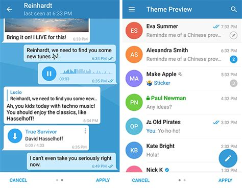 telegram para android a 241 ade la posibilidad de crear