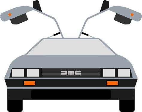 back to the future clipart delorean clip that i made backtothefuture New