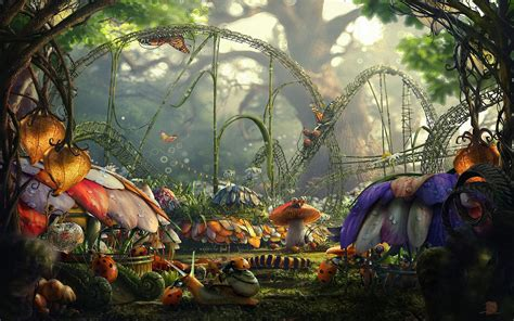 Alice In Wonderland Background ·① Download Free Stunning Hd Wallpapers For Desktop And Mobile