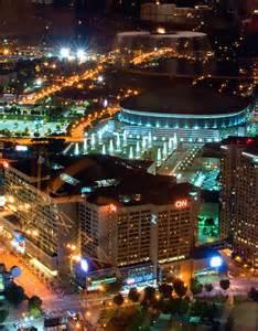 Georgia Dome at Night