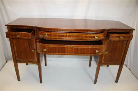 Antique Mahogany Sideboard Buffet by Antique Inlaid Mahogany Sideboard Server Buffet