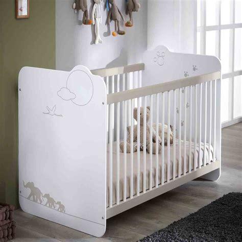 pied reglable pour meuble cuisine lit bébé fille ou garçon en couchage 120x60 cm jungle