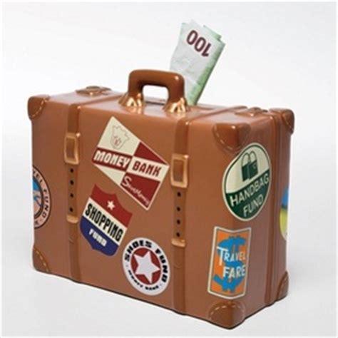 tolle geschenke spardose reisekoffer geschenke