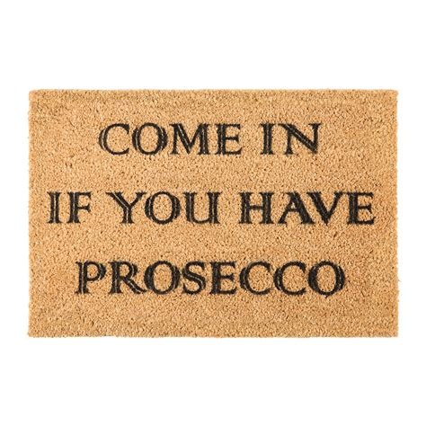 Buy Doormat by Buy Artsy Doormats Prosecco Door Mat Amara