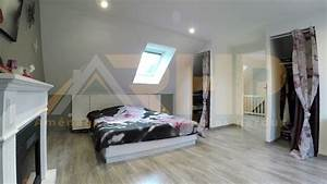 Chambre Sous Les Combles : am nager une chambre d 39 amis sous les combles ~ Melissatoandfro.com Idées de Décoration