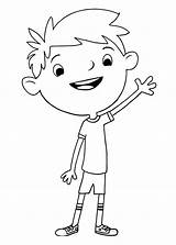 Justin Cartoon Coloring Pages Printable Coloringonly Categories Stinky Dirty Timmy sketch template