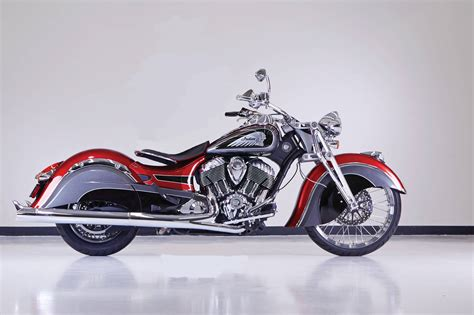 Custom Indian Chief Motorcycle