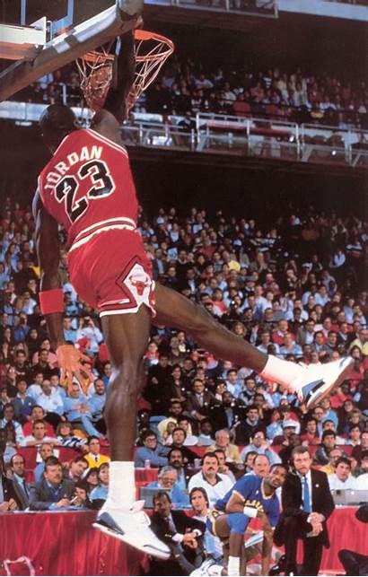 Jordan Michael Dunk Air Contest Slam Cement