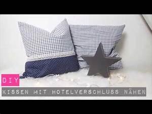 Dänisches Bettenlager Kissen 50x50 : diy kissen mit hotelverschluss n hen n hen f r anf nger diy kajuete youtube ~ Bigdaddyawards.com Haus und Dekorationen