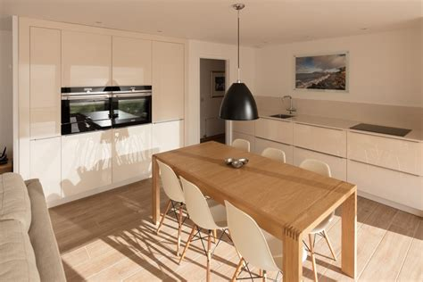 Kitchen Design For Open Plan Living  Mihaus  Fife