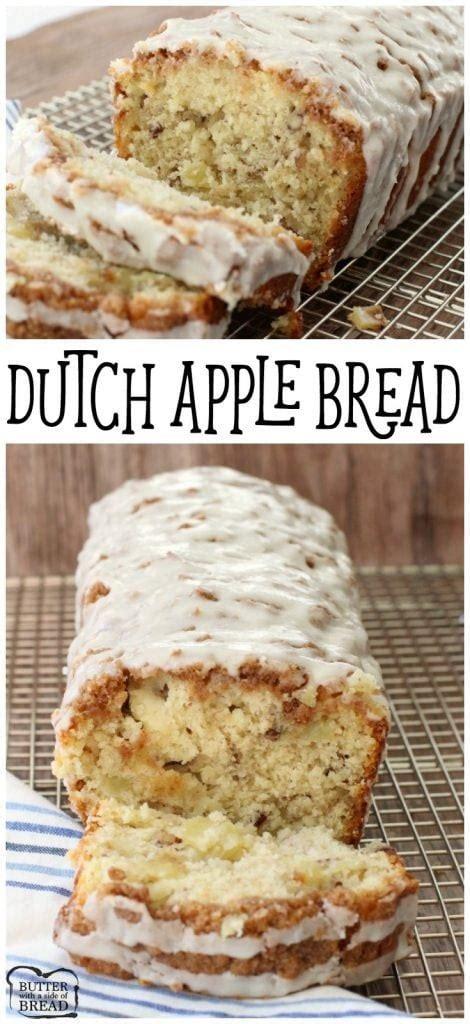 dutch apple bread recipe butter   side  bread