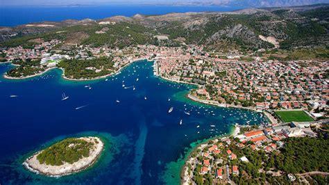 Hvar Wonderful Island In The Adriatic Sea North Of Croatia