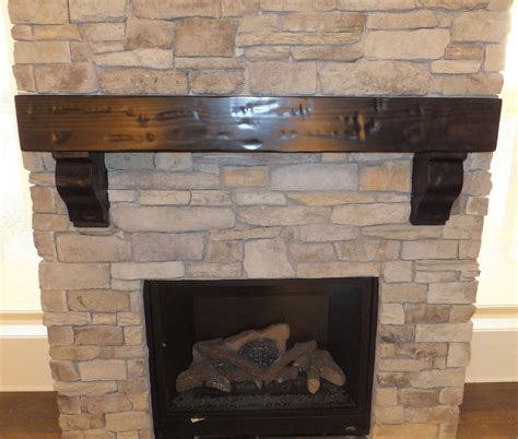 Corbels For Fireplaces by Wood Mantel With Corbels Tyres2c