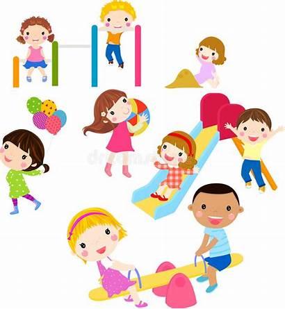 Fun Having Children Jugando Clip Playing Clipart