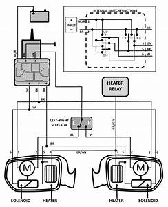 Volvo 240 Power Mirror Wiring Information