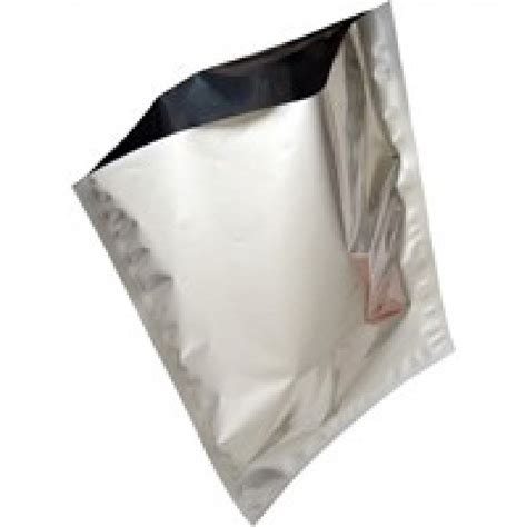 "5   6 Gallon Mylar Bag   Silver Foil (20"" x 30"")   Briden"