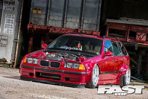 modified bmw   touring fast car