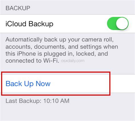 backing up iphone to icloud how to prepare for the ios 8 update the right way