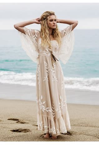 enchanted forest maxi dress  people