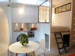 Aménagement Petit Appartement : petits espaces am nagement et d co espaces minuscules ~ Nature-et-papiers.com Idées de Décoration
