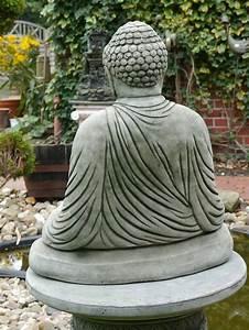 Buddha Figuren Garten Günstig : buddha figur statue f r haus und garten aus beton figuren menschenfiguren ~ Bigdaddyawards.com Haus und Dekorationen