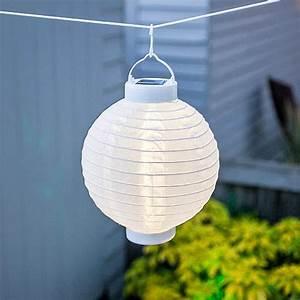 Lampions Mit Led : solar lampion led china laterne 25 cm warmweiss und ~ Watch28wear.com Haus und Dekorationen