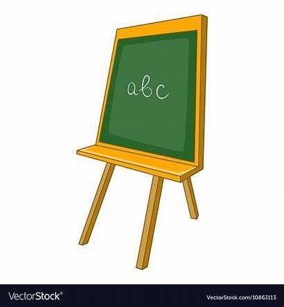 Cartoon Chalkboard Icon Vector Board Royalty