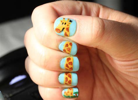 animal nail arts fashion