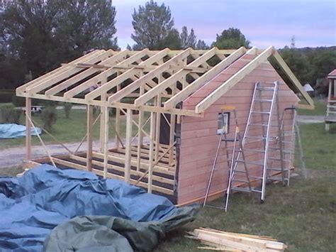 construire un petit chalet en bois