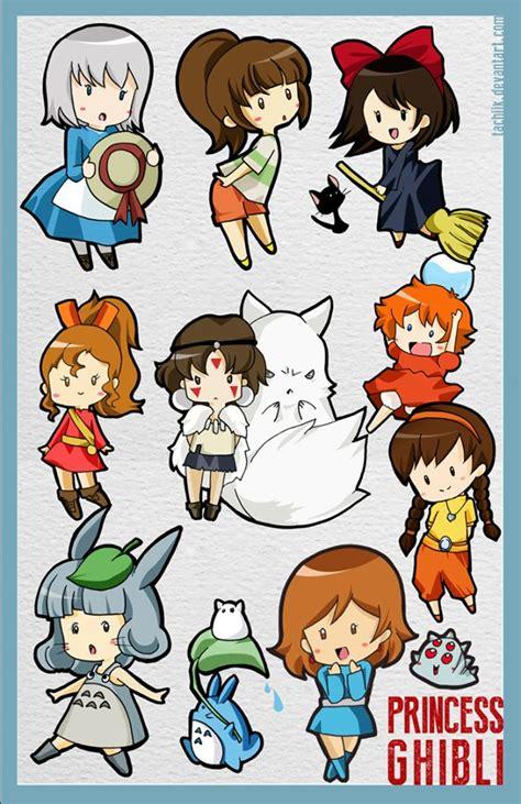 miyazaki ru  studio ghibli characters studio ghibli