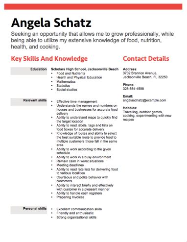 15094 high school resumes skills 12 free high school student resume exles for