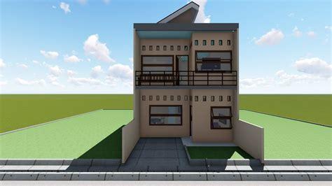 desain rumah minimalis luas tanah 60 m2 wallpaper dinding