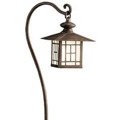 kichler low voltage path light 15422agz destination