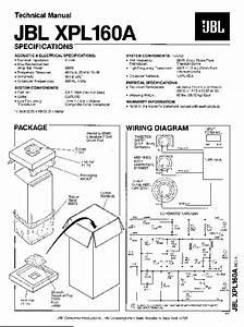 Jbl Xpl 160a Service Manual  U2014 View Online Or Download Repair Manual
