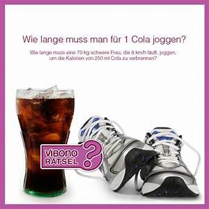 Wie Lange Sollte Man Kontoauszüge Aufheben : wie lange muss man f r 1 cola joggen vibono ~ Lizthompson.info Haus und Dekorationen