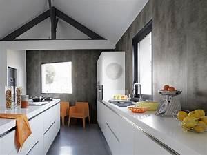 lambris pvc pour cuisine maison travaux With lambris pvc pour cuisine
