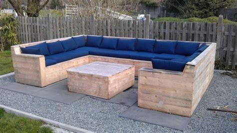 Pallet Wood Outdoor Furniture Plans