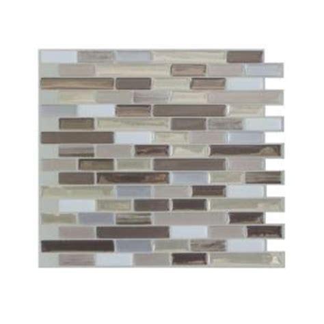 smart tiles muretto durango mosaik smart tiles 9 125 in x 10 25 in muretto durango mosaic