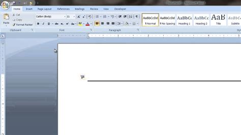 how to create a line in microsoft word tech vice