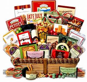 Holiday Gift Guide Gourmet Gift Baskets