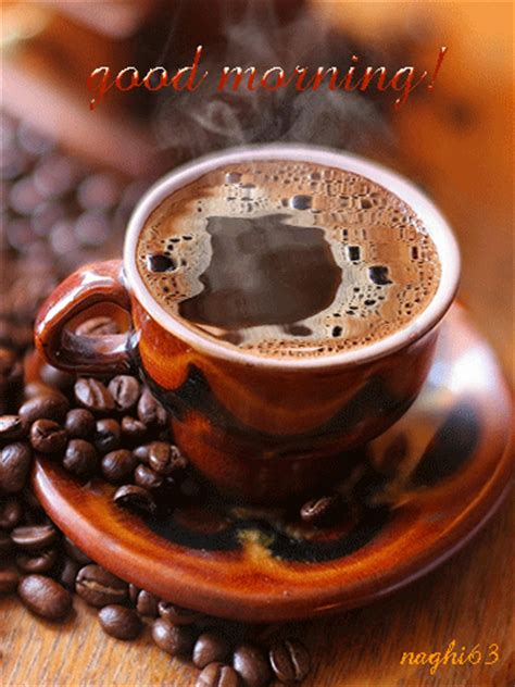 With tenor, maker of gif keyboard, add popular good morning coffee animated gifs to your conversations. 29 April 2015 Good Morning 早上好! | Friday coffee, Good morning coffee, Morning coffee