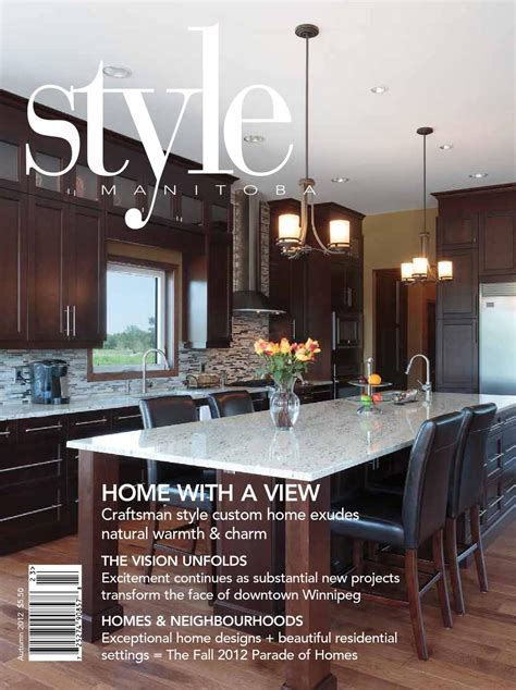 kitchen design winnipeg style manitoba autumn 2012 by style manitoba issuu 1407