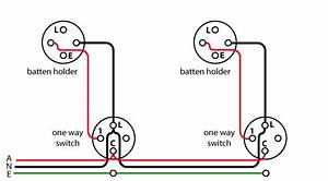 Image Showing Wiring Diagram Of A Loop At The Switch Circuit