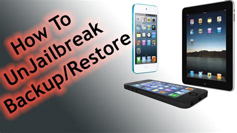 how to unjailbreak iphone without computer how to unjailbreak iphone or ipod touch on ios 8 3